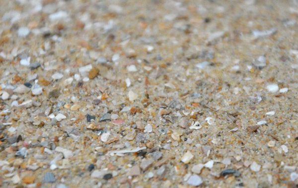 Muschelsand, naturfarben 2kg