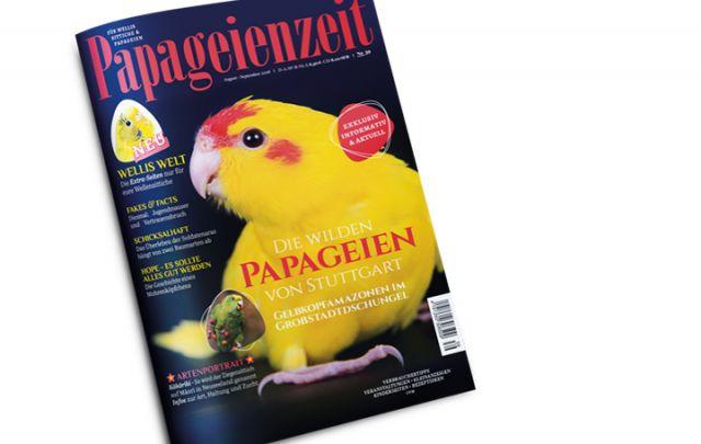 Papageienzeit Nr. 39 August-Septemer 2018