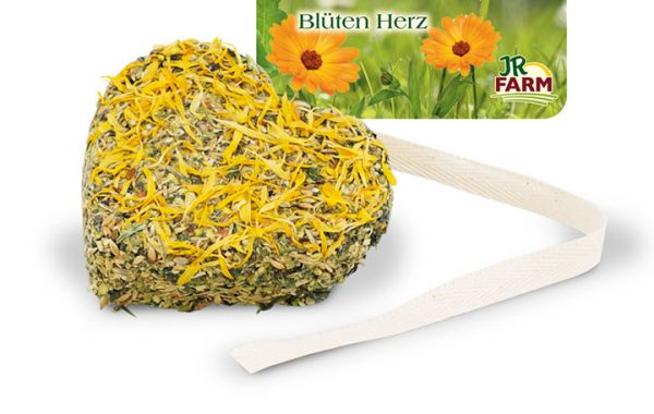 JR FARM Blüten-Herz 90g