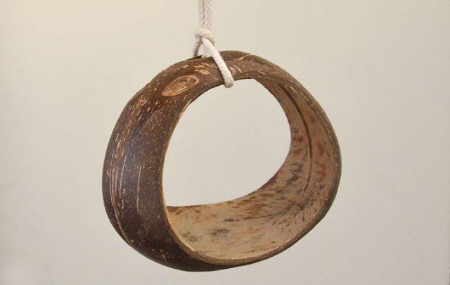 Kokos Ringschaukel