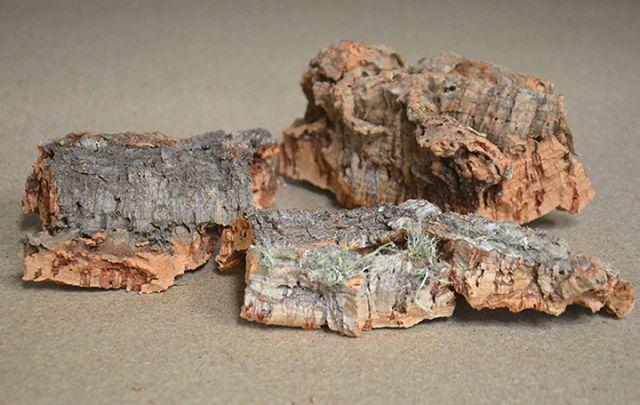 Korkstücke 3St. 10-15cm