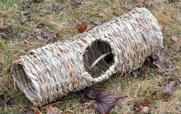 Grasröhre mit Löchern 55 x 15 cm