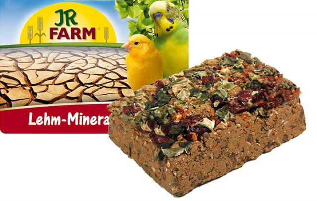 JR Birds Lehm-Mineral Pickstein 75g