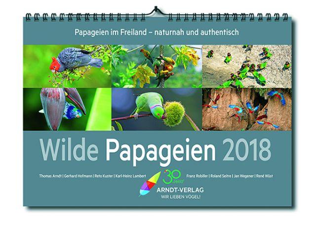 Kalender Wilde Papageien 2019