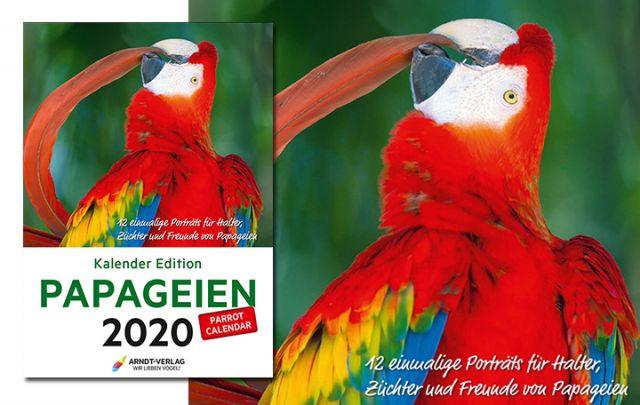 Kalender Edition PAPAGEIEN 2020