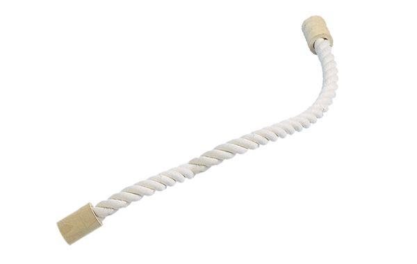 Sitzseil weiße Baumwolle L: 120 cm; Ø 28 mm