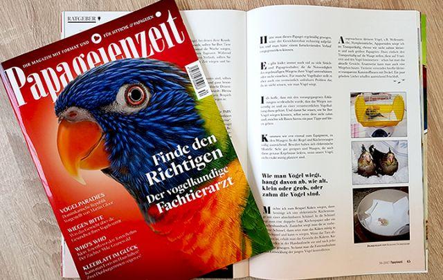 Papageienzeit Nr. 34 Oktober/ November 2017