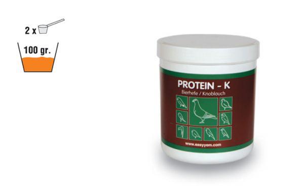 Protein-K Bierhefe/ Knoblauch 250g