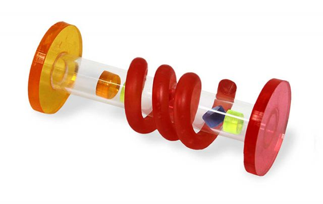 Acrylic Spiral Fot Toy