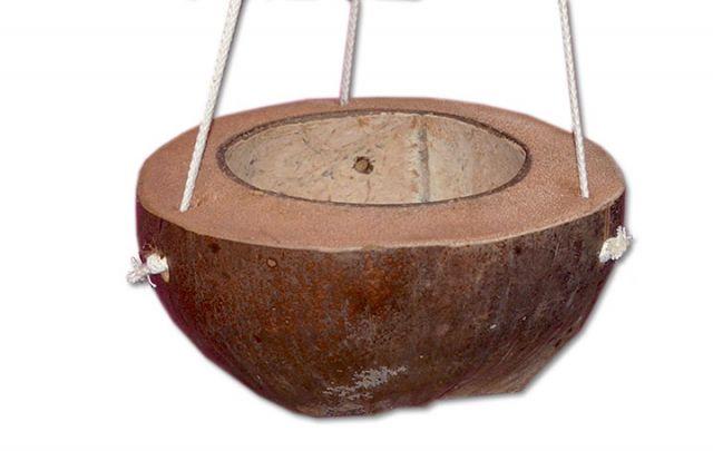 Kokos Futterschaukel zum Hängen