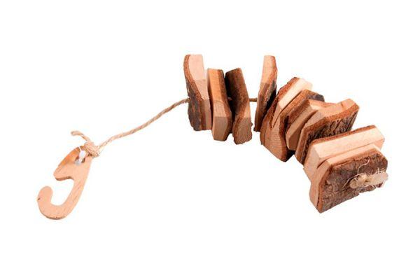 Knabberrinde auf Seil 24cm