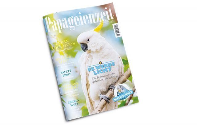 Papageienzeit Nr. 44 Juni/ Juli 2019