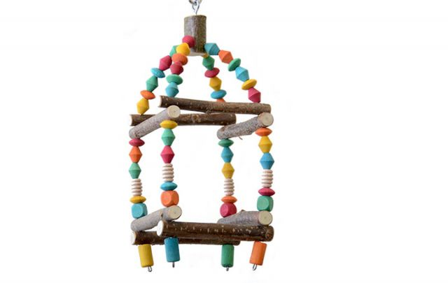 Mini Schaukel Turm für Sittiche
