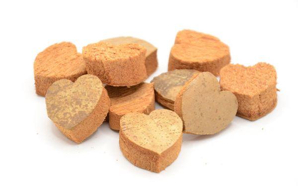 Kokos Herz natur mini 10Stück