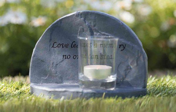 Gedenkstein Love 16x12x7cm