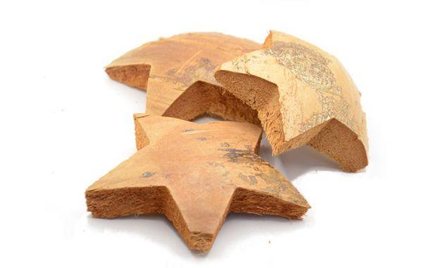 Kokos Sterne XL 3 Stück