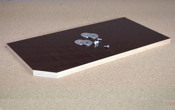 Sitzbrett beschichtet, 40 x 20 cm