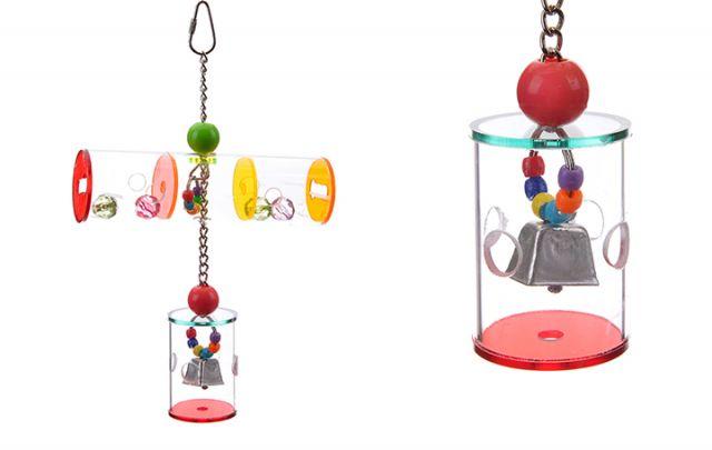 Tunnel Vision Bird Toy