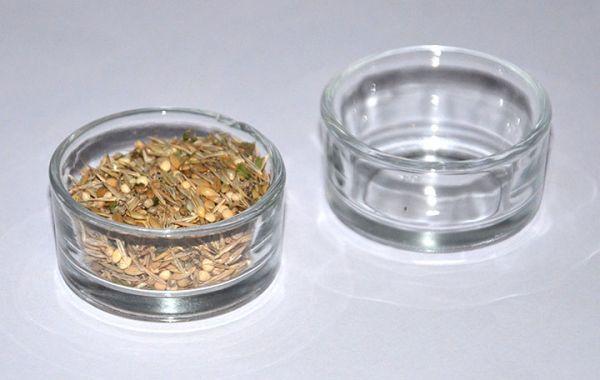 Glasnäpfe, 2 Stück