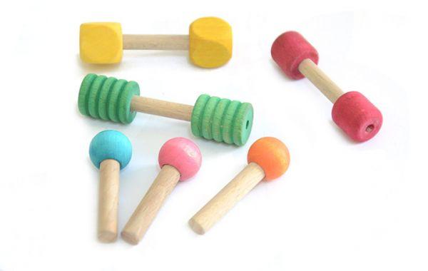 Tisch Spielzeugset für Welli und kl.Papageien 6 teilig