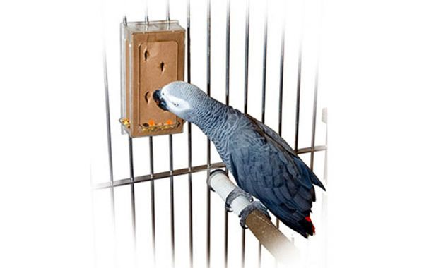 KREATIV FUTTOMAT vertikal L für Papageien