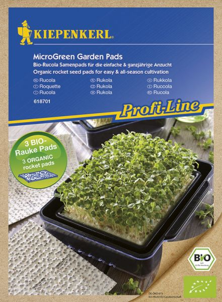 MicroGreen Garden Bio-Rucola Nachfüllpads