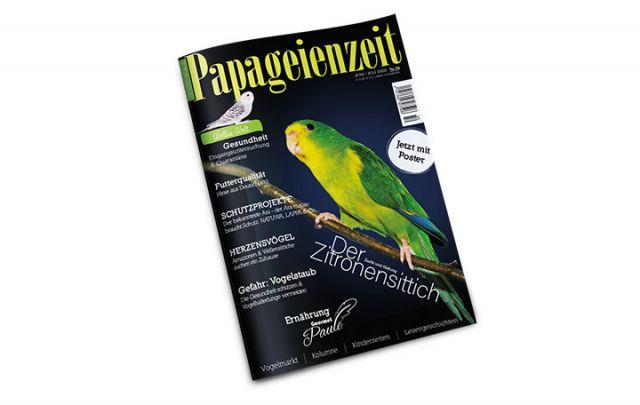 Papageienzeit Nr. 50 Juni/ Juli 2020