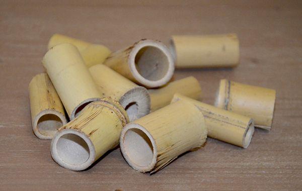 Bambus Röhren