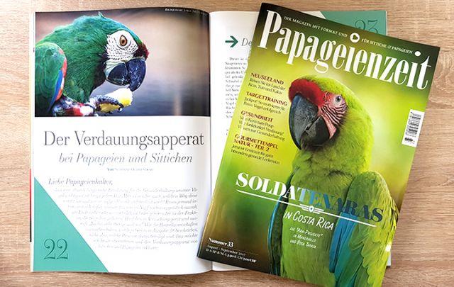 Papageienzeit Nr. 33 August-September 2017