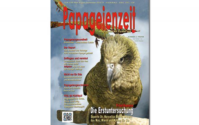 Papageienzeit August/ September 2014