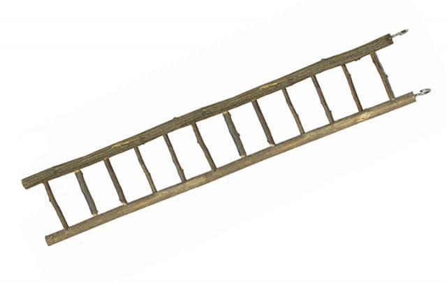 Holz Leiter, 12-sprossig ca. 50 cm