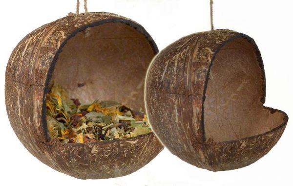Hanger Coconut polished 10 - 15 cm
