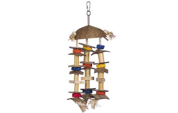 Cage Toy, Spielzeug Kokosnuss