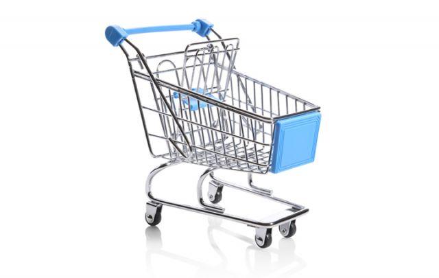 Einkaufswagen für Papageien