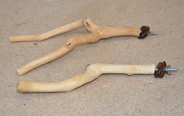 Driftwood Sitzstange 25 - 30 cm