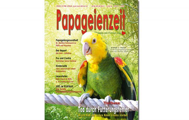 Papageienzeit Juni / Juli 2014