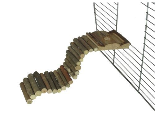 Natur-Holzbrücke 27 x 7 cm