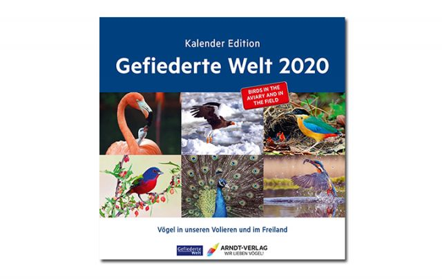 Kalender Gefiederte Welt 2020