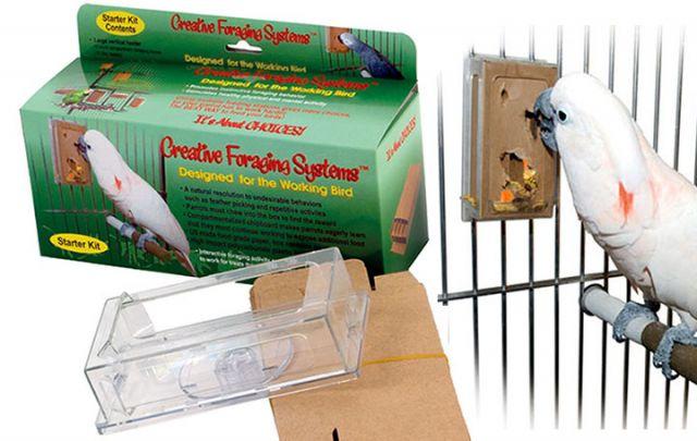 Kreativ Futtomat Starterset L für Papageien