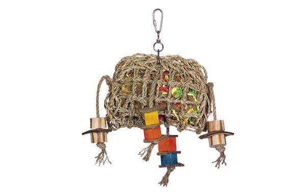 Cage Toy, Seegras Tasche