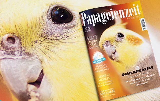Papageienzeit Nr. 42 Febuar/ März 2019