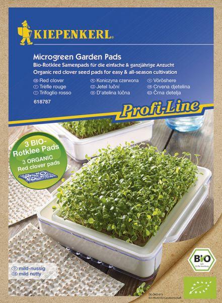 Profi-Line Kiepenkerl Nachfüllpads für MicroGreen Garden BIO Rotklee
