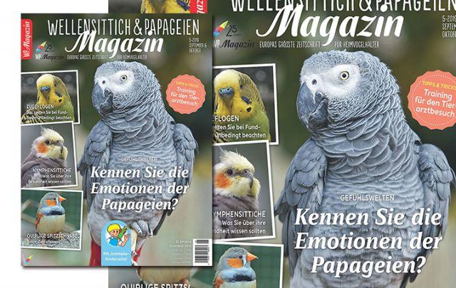 Wellensittich & Papageien Magazin 5-2019