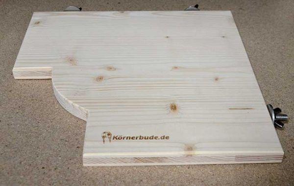 Körnerbude Sitzbrett 30 x 30 x 2 cm