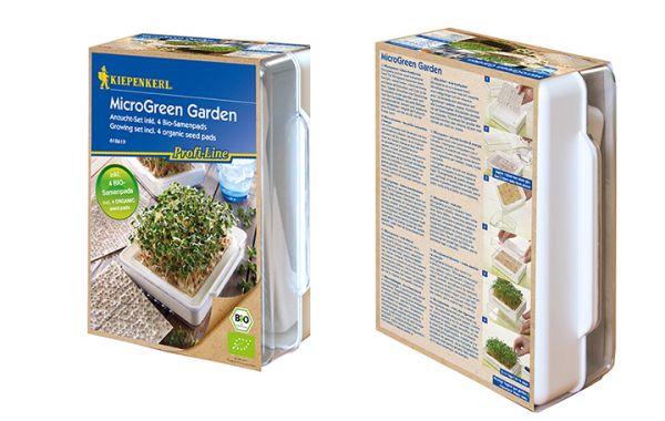 MicroGreen Garden weiß Cressbar Starter Set