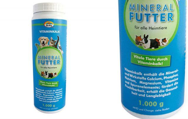 Vitaminkalk Mineralfutter, 1 kg