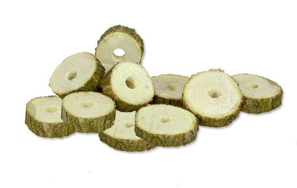 Holzscheiben, naturbelassen
