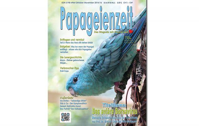 Papageienzeit Oktober/ November 2014