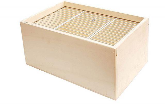 Vogelsortierkiste Holz - klein,1-teilig