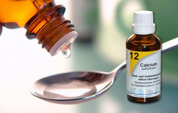 Nr. 12 Calcium sulfuricum 50ml